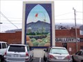 """Image for Weathered Pines"""" Mural - West Jefferson, NC."""
