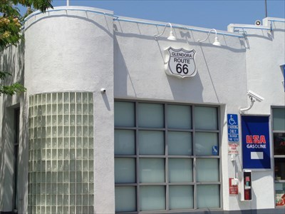 Vintage Route 66 Gas Station - Glendora