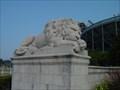Image for Legion Field lion statue