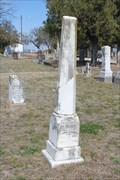 Image for Holmsley - Oakwood Cemetery - Comanche, TX
