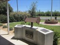 Image for Linden Peters Fire District 9/11 Concrete Memorial  - Linden, CA