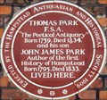 Image for Thomas Park - Church Row, Hampstead, London, UK