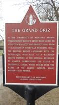 Image for The Grand Griz - U of M - Missoula, MT