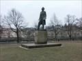 Image for Statue of Josef Mánes - Prague, Czech Republic