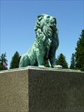 Image for Gibson Monument Lion Guardian