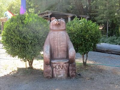 The Bear Chair, Garberville, California