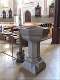 Image for Baptismal Font - Pfarrkirche Mariä Himmelfahrt - Garmisch-Partenkirchen, Germany