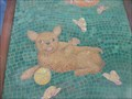 Image for Puppy, Kitten & Butterflies Mosaic Mural  -  San Diego, CA