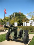 Image for Pair of light towed howitzers - Veterans Memorial, Franklin Park, IL