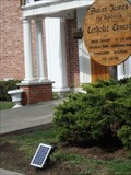 Image for Solar spotlight - St. James Catholic Church, Trumansburg, NY