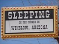 Image for Historic Route 66 - Sleeping On The Corner In Winslow, Arizona.