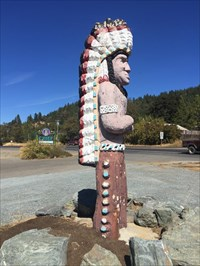 Chief, Right Side, Laytonville, California