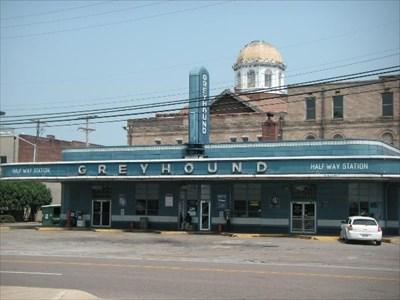 Greyhound Bus Station Jackson Tn U S National Register Of Historic Places On Waymarking Com