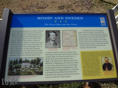 MOSBY AND SNEDEN -- The Grey Ghost and the Artist