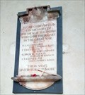Image for Memorial Plaque - St George - St Cross South Elmham, Suffolk