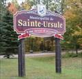Image for Terre d'accueil - Sainte-Ursule, Québec