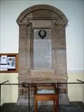 Image for War Memorials, St Johns Church, Sharow, N Yorks, UK