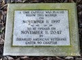 Image for Alachua County Veteran's Memorial Park Time Capsule - Gainesville, Florida, USA