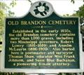 Image for Old Brandon cemetery - Brandon,MS