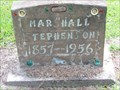 Image for Marshall Stephenson - Oak Park Cemetery, Alvin, TX