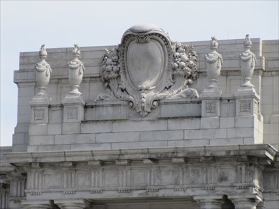 Ornate Features at Roofline, San Francisco, CA