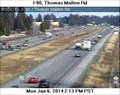 Image for I-90 Thomas Mallen Road Webcam - Spokane, WA