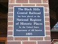 Image for The Black Hills Central Railroad - Hill City, SD