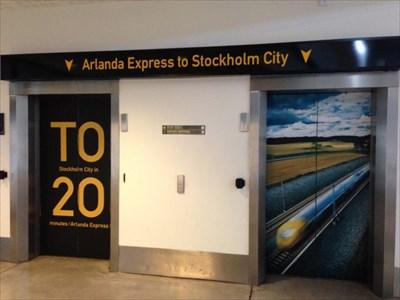 Arlanda Express, Arlanda Airport, Stockholm, Sweden