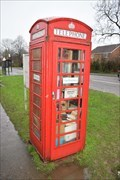 Image for Red Telephone Box - Crick, Northamptonshire, NN6 7TX
