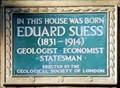 Image for Eduard Suess - Duncan Terrace, London, UK