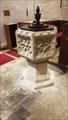 Image for Baptism Font - St Nicholas - Barfrestone, Kent