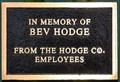Image for Bev Hodge ~ Dubuque, Iowa