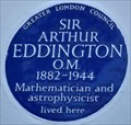 Image for Sir Arthur Eddington - Bennett Park, Blackheath, London, UK
