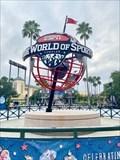 Image for ESPN Wide World of Sports Complex Earth Globe - Orlando, Florida