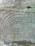 Image for Celtic Labyrinth carvings, Rocky Valley, Tintagel, U.K.