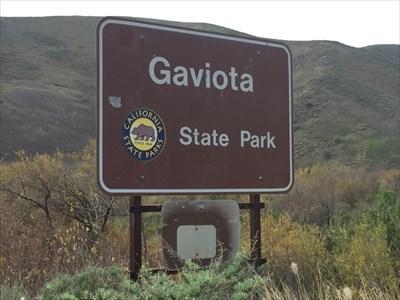 State Park Sign, Goleta, California