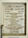 Image for Ferry County Courthouse - 1936 - Republic, WA