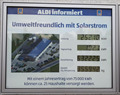 "Image for Counting display ""Sonnenstrom"" (solar power) - Roth, BY, Germany"