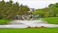 Image for A A MacDonald Memorial Gardens Fountain - Georgetown, PEI