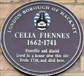 Image for Celia Fiennes - Well Street, London, UK