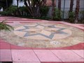 Image for Compass Rose with Sister Cities - Santa Barbara, CA