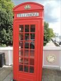 Image for Red Telephone Box - Albert Bridge, London, UK