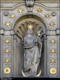 Image for Panna Marie s Jezulátkem na kostele Panny Marie Vítezné / Our Lady with Infant Jesus on Church of Our Lady Victorious (Prague)