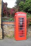 Image for Ravensthorpe's Red 'Phone Box, Northants.