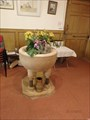 Image for Baptismal Font, Kirk Andreas (St. Andrew) - Andreas, Isle of Man