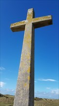 Image for Cross at St Piran's Oratory - Perranporth, Cornwall