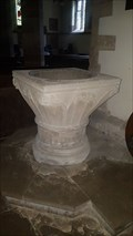 Image for Baptism Font - St Nicholas - South Kilworth, Leicestershire