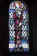 Image for St.Columba, St.Bridgid, St.Patrick and St.Margaret, The Stained Glass of St.Columba's Abbey, Iona, Argyll & Bute, Scotland.
