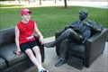 Image for Bob Newhart and his couch - Chicago, Illinois