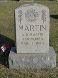 Image for A.N. Martin - Little Elm Cemetery - Little Elm, TX